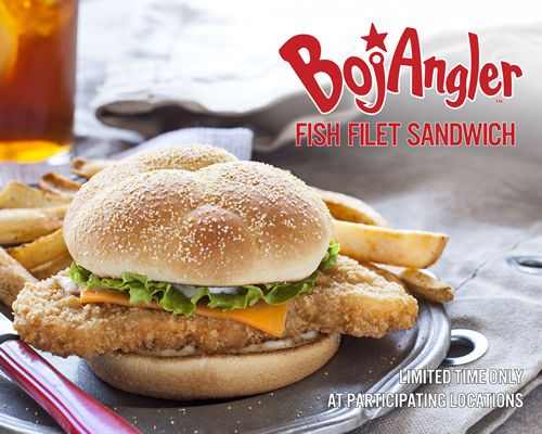 Bojangles' All-New BojAngler Fish Sandwich Available for a Limited Time