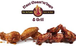 East Coast Wings & Grill Offers Free Wings for a Year in #InsanitySweeps Campaign