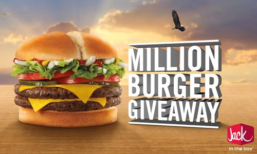 Jack in the Box Issues Declaration of Delicious, Commits to Giving Away One Million Burgers
