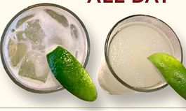 Raise a Glass to National Margarita Day at Snuffer's