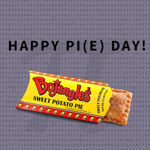 Celebrate Pi Day @ Bojangles', Get 3 Baked Sweet Potato Pies for $3.14