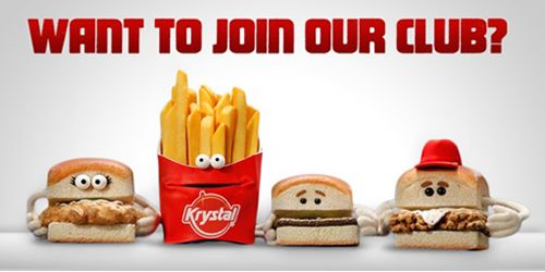 Little Burger Brand Krystal Goes Big On Personality In New Ad