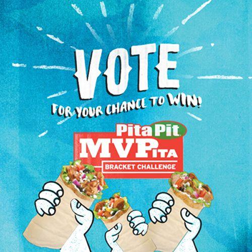 Pita Pit Kicks Off Another Year of March Mayhem with Launch of MVPita Challenge