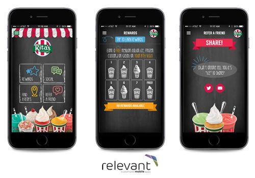 Rita's Italian Ice Releases Updated Mobile App