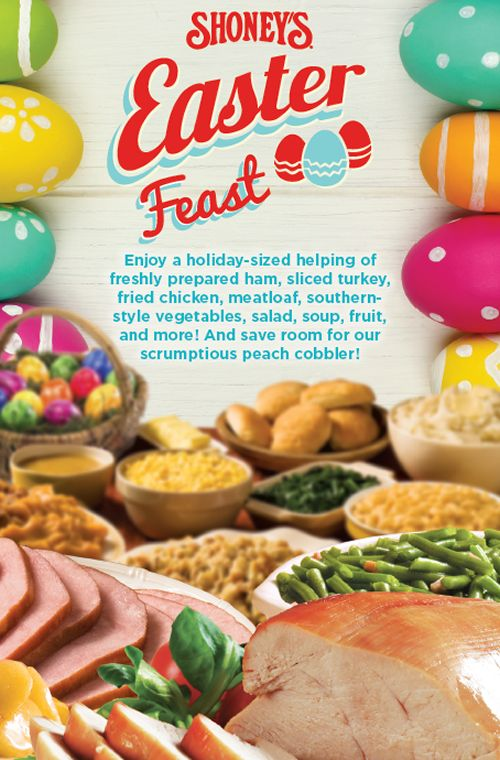 Shoney's Invites America to Enjoy its Home-Style Easter Buffet