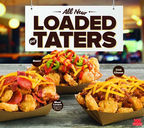 Wienerschnitzel Piles It On with New Loaded Po'Taters