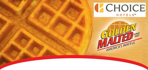 Golden Malted Announces It Will Be the Exclusive Qualified Vendor of Fresh-Baked Waffles for All Properties Franchised by Choice Hotels International, Inc.