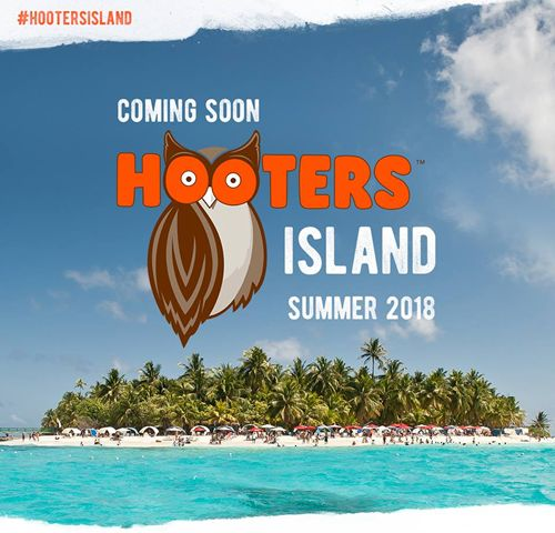 Hooters Buys Private Island - Offers Customers Chance to Win a Trip to an Island off the Coast of Mexico