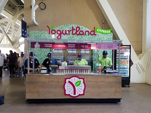 'Yogurtland Express' Opens at Petco Park