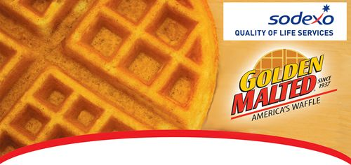 Golden Malted Announces It Will Be the Exclusive Provider of Fresh-Baked Waffles and Pancakes for All Sodexo Sites Throughout the United States and Canada