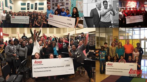 Logan's Roadhouse Launches Second School Music Grant Campaign, Offers Additional $25,000 in Grants