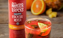 """Celebrate Summer Cocktail Season with Fresh, Low-Calorie and Handcrafted """"Nekter on the Rocks"""" Cocktail Mixers from Nekter Juice Bar"""