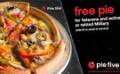 Pie Five Offers Free Pizza for Military Veterans on Memorial Day