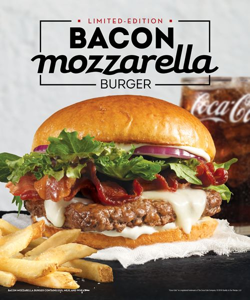 Wendy's Releases Its Next Hit Single - The Bacon Mozzarella Burger