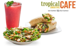 """""""Hot"""" and """"Cool"""" Tastes Headline the Summer Menu at Tropical Smoothie Café"""