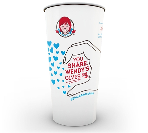 Fill Hearts with Love through Wendy's #Share4Adoption Social Media Campaign