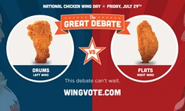 Hooters Celebrates National Chicken Wing Day with All-You-Can-Eat Wings