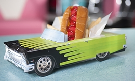 Hwy 55 Burgers, Shakes & Fries Featuring $1 Hot Dogs on National Hot Dog Day