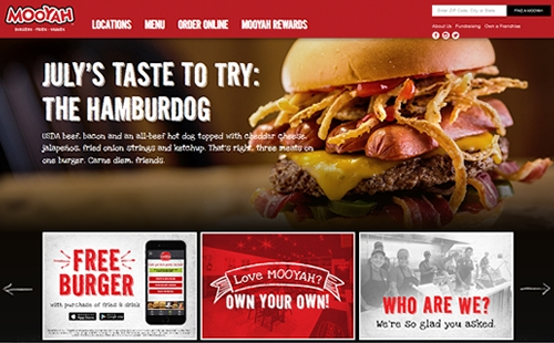 MOOYAH Burgers, Fries & Shakes Launches Seriously Fun Redesigned Consumer Website