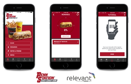 Penn Station Unveils New Mobile App with Relevant Mobile