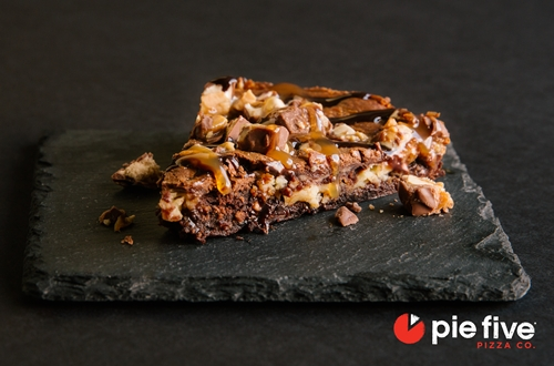 Pie Five Pizza Co Sweetens the Deal with Cheesecake Brownie Made with SNICKERS Bar
