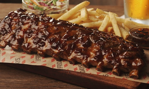 TGI Fridays Launches A Ribolution With A Full Rack Of Ribs For Just One Hamilton