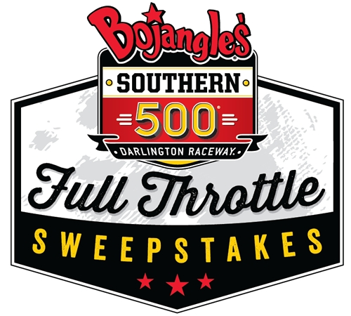 """The Race is on for the Bojangles' Southern 500 """"Full Throttle"""" Sweepstakes"""