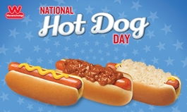 Wienerschnitzel Celebrates National Hot Dog Day with 99-cent Hot Dogs on July 23