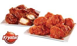49-cents Wings Coming to Krystal for One Day Only