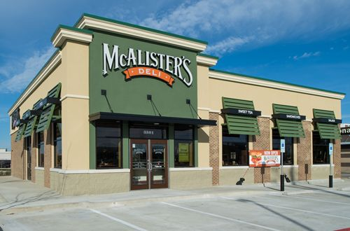 McAlister's Deli Signs Development Agreements in Georgia and Illinois