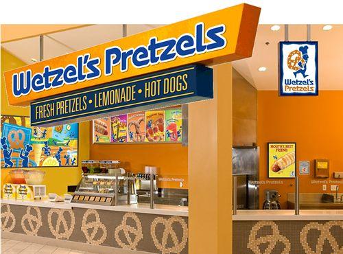 Wetzel's Pretzels Launches Mobile App