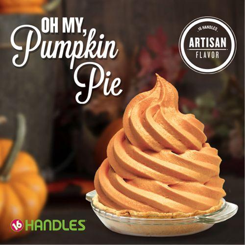 16 Handles Launches Oh My, Pumpkin Pie! Flavor