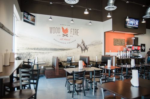 Cowboy Chicken Fired Up For Growth With New Restaurant Design Rollout
