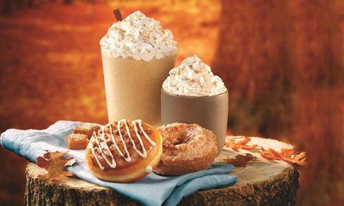 Fall in Love with Seasonal Flavors at Krispy Kreme Doughnuts