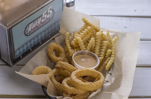 """Hwy 55 Burgers, Shakes & Fries Officially Introduces """"Half-n-Half"""""""