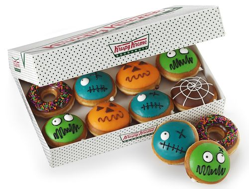 Scary Delicious: Krispy Kreme Doughnuts Debuts Halloween Doughnuts and Chiller