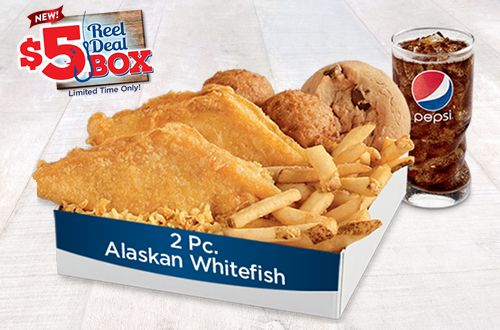 Long John Silver's Reels in Customers with Popular $5 Promotional Offering