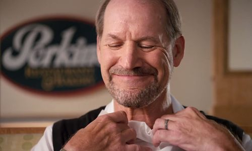 "Perkins Drafts Bill Cowher for ""Gridiron Greats"" Promo"