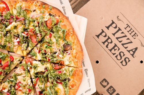 The Pizza Press, Anaheim, CA