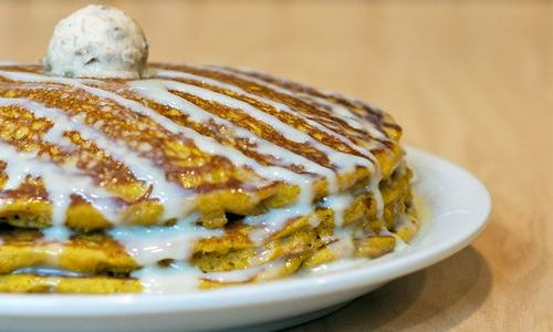 Pumpkin Spice Pancakes Return to Sunny Street Cafe