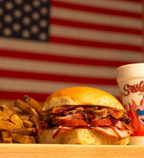 Soulman's Bar-B-Que Shows Who's Boss with New Sandwich Combo