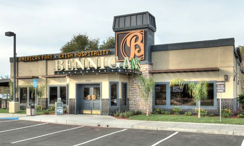Bennigan's Begins Construction in Sacramento