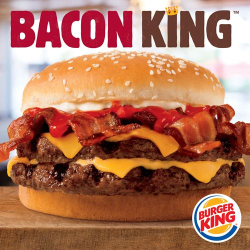 BURGER KING Restaurants Introduce the Big and Hearty BACON KING Sandwich