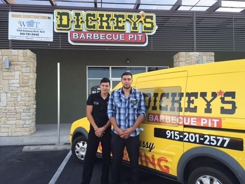 El Paso Native Opens New Dickey's Barbecue Pit in His Hometown