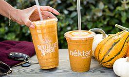Nékter Juice Bar's Pumpkin Pie Smoothie: A Healthier Way to Indulge in Fall's Favorite Flavor