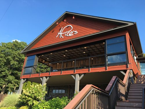 Roll-A-Cover's Innovative Rolling Wall System Extends the Season at Alice's Restaurant