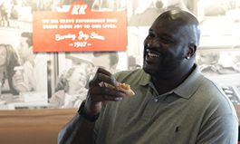 Shaq Signs as an Owner in Krispy Kreme Doughnuts Franchise