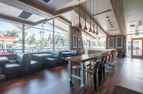 Sharky's Woodfired Mexican Grill Blends Past and Present at New Restaurant in Studio City, California