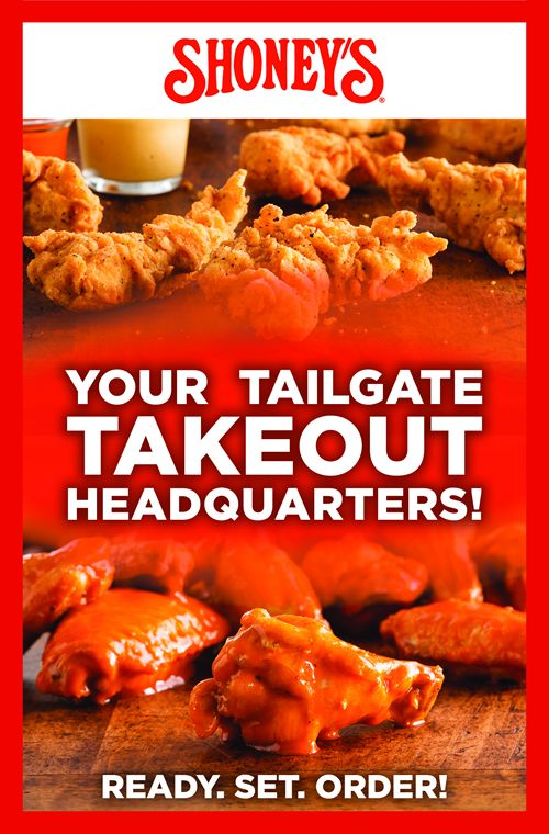 """Shoney's Becomes the Game Changer with """"The Great Tailgate"""" Take-Out Specials for Football Season"""
