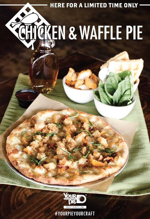 Your Pie Launches New Craft Pie Series with Down-Home Southern Favorite Chicken & Waffle Pie
